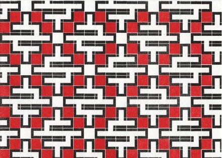 Dikko Faust - Nessonis 1: Pyrassos - Hand set block print - 2012