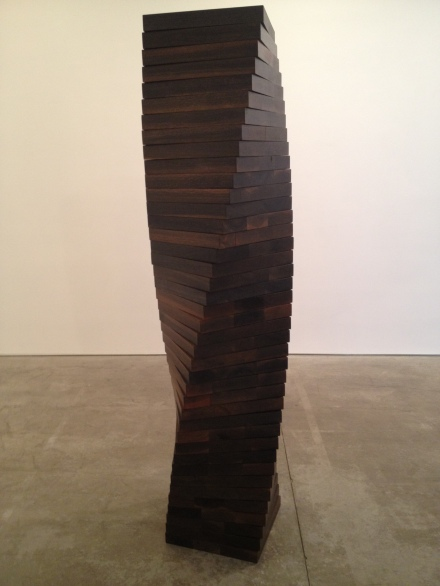 Morris - Twisted Column - 2012 - Wood