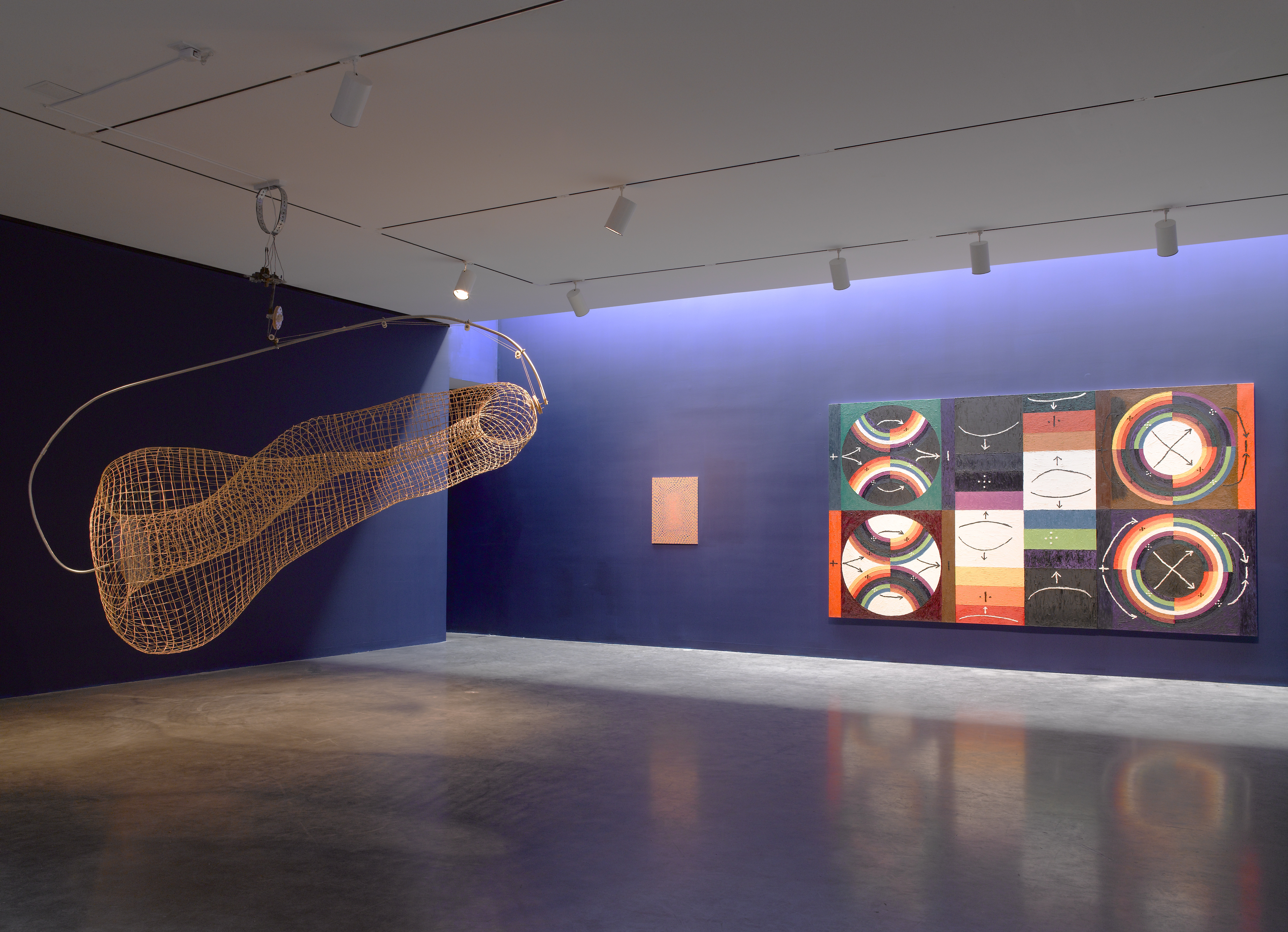 Installation view of the exhibition Eureka Pace