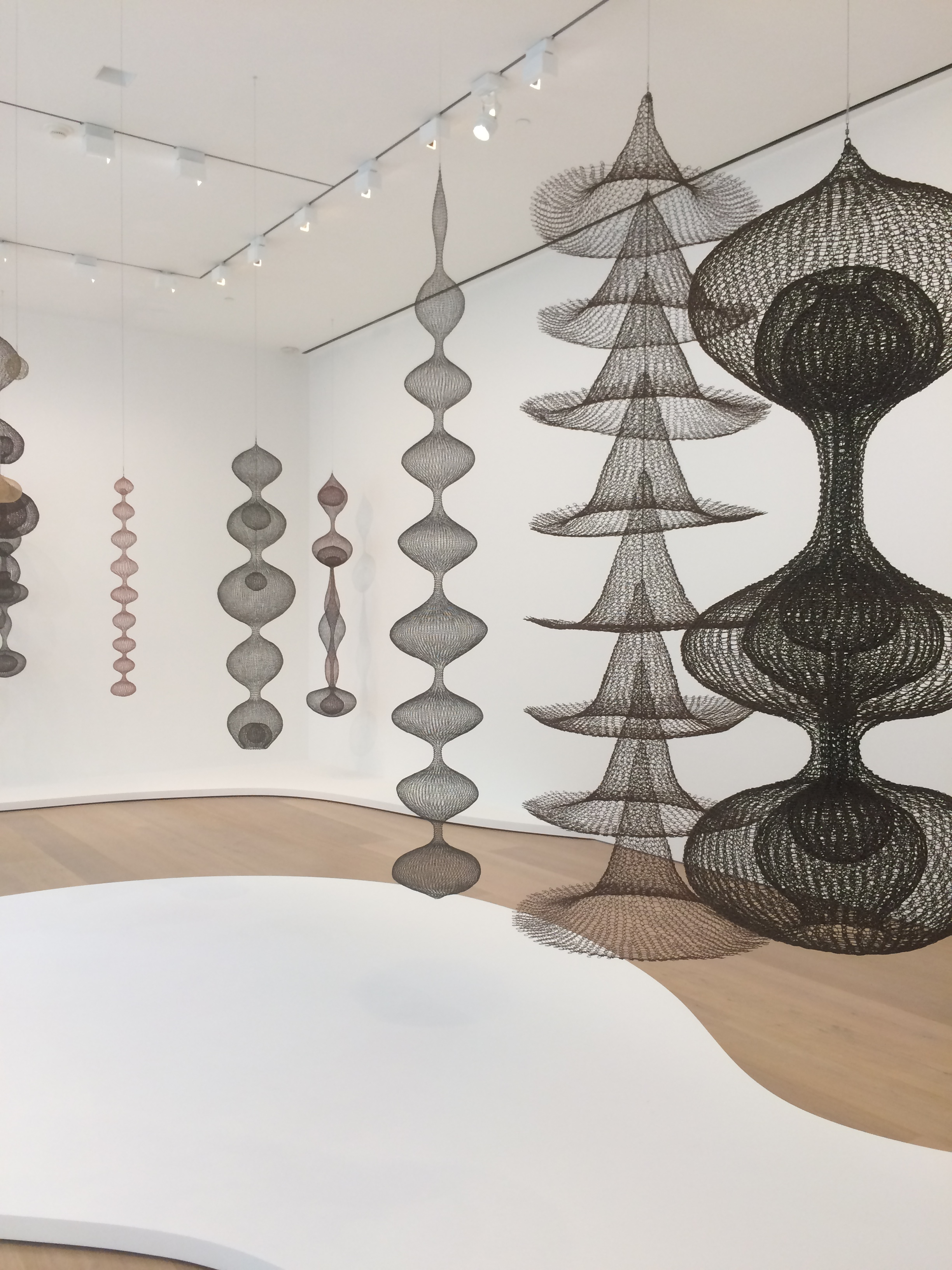 Ruth Asawa at David Zwirner Gallery | fibonaccisusan